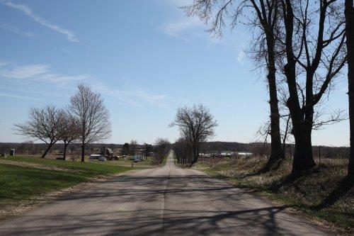 road in Homer Mi