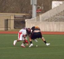 Goalie saves game