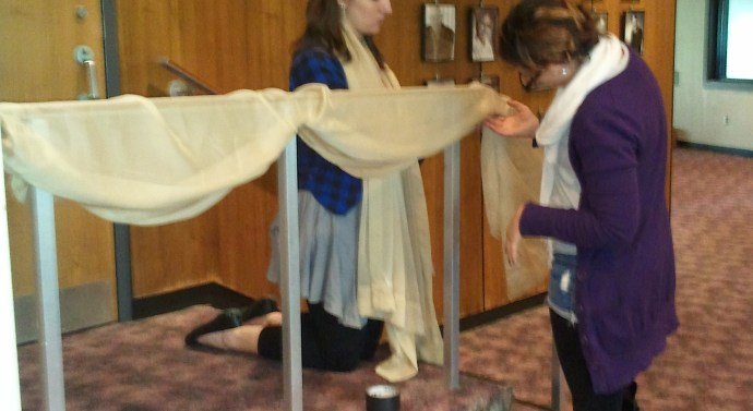 Ring Round the Moon takes flight: A sneak peak behind the scenes of OWU's newest show