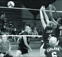 Volleyball improves record, optimistic about season