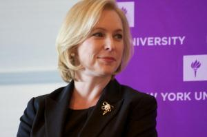 New York Sen. Kirsten Gillibrand, who has authored a bill to change the way the United States military tries sexual assault cases. Photo from gillibrand.senate.gov.