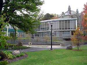 Phillips Hall, where the printer incidents occurred. Photo: Department of religion.