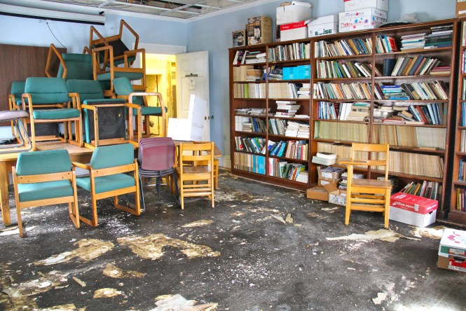 Post-flood aftermath in Elliott. Photo by Jane Suttmeier