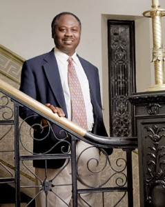 Professor Randolph Quaye, the director of the Black World Studies department. He was recently recognized for his work in research on the Affordable Care Act. Photo from Connect2OWU