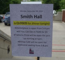 Burst pipe shuts down Smith dining hall