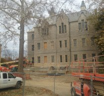 Merrick Hall construction delays may have implications for commencement