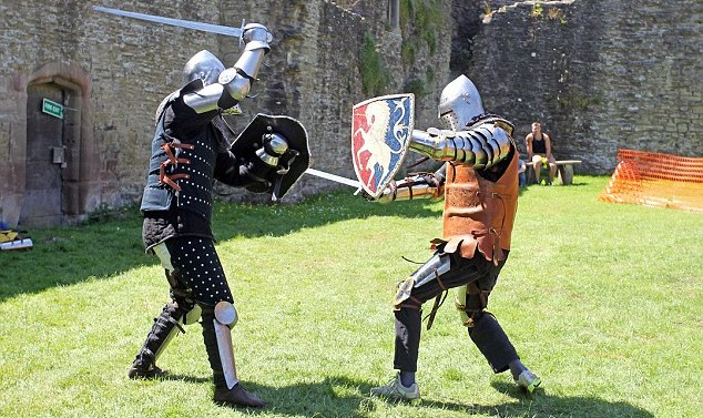 Medieval combat not just a thing of the past