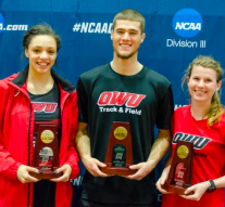 Freshman track and field athlete wins national title at Division III event