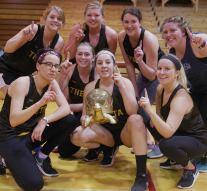 Thetas win gold at DZ dodgeball
