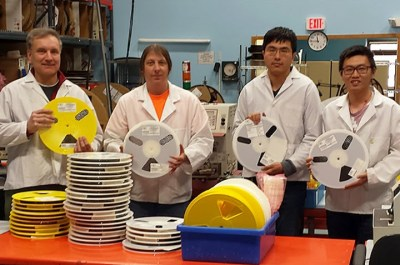 OX3.com Tape and Reel Production