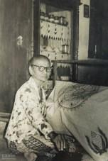 a batik craftswoman