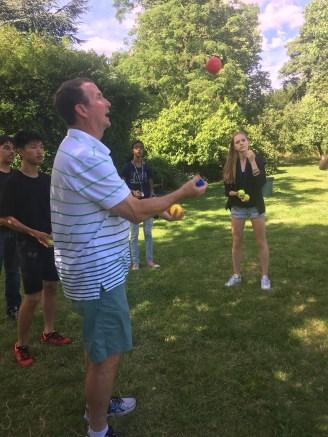 Bill's juggling school