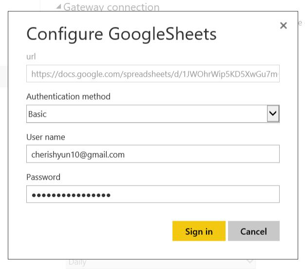 Solved: Auto refresh Google Sheets data - Microsoft Power BI Community