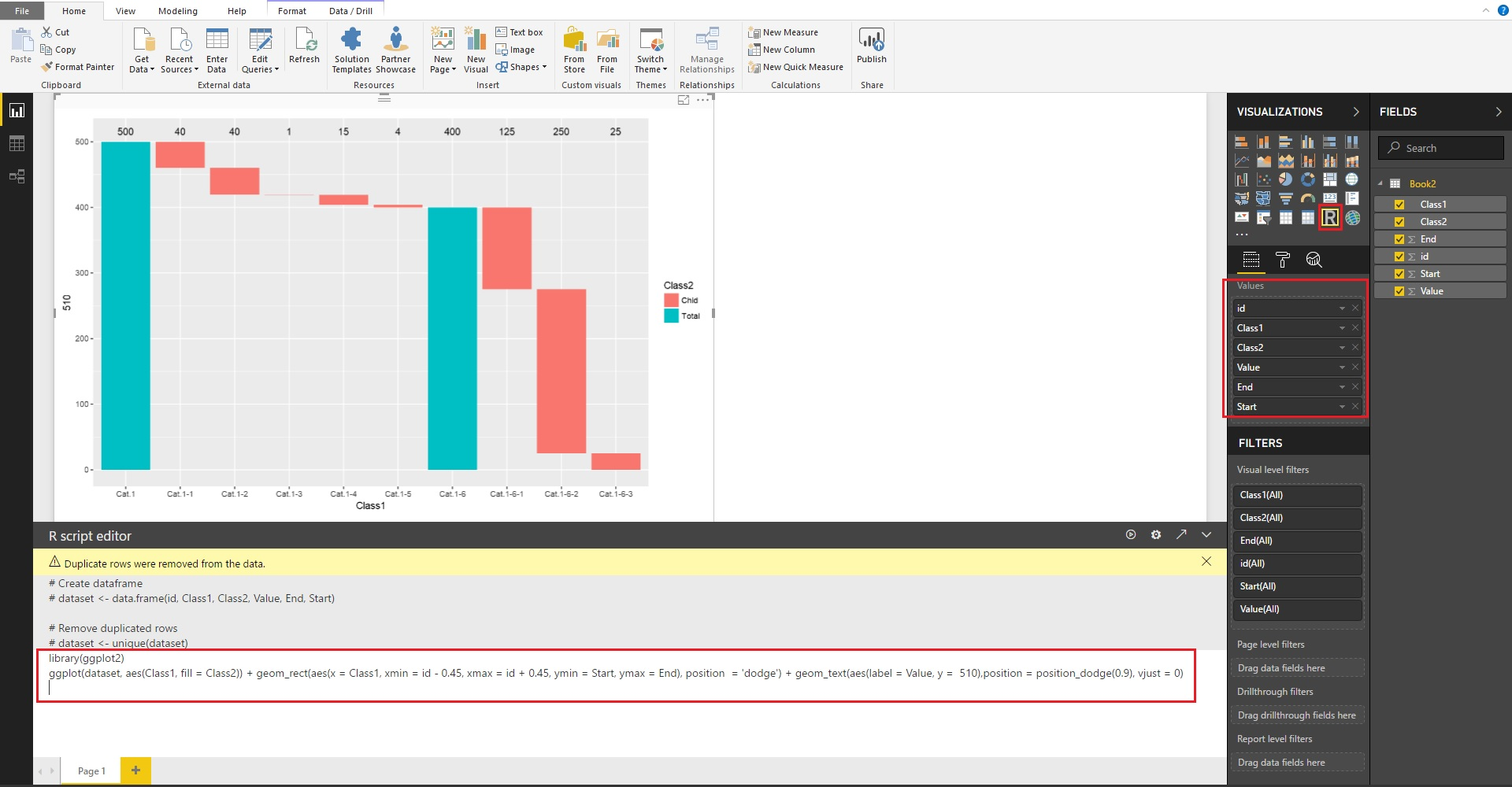also funnel  waterfall chart microsoft power bi community rh powerbi