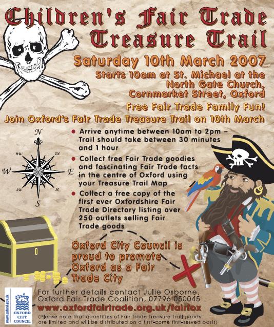Fairtrade Treasure Trail