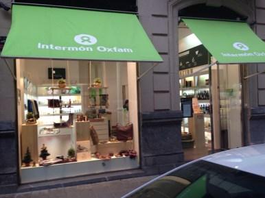 Visita nuestra tienda de Comercio Justo en Colón de Larreátegui 12