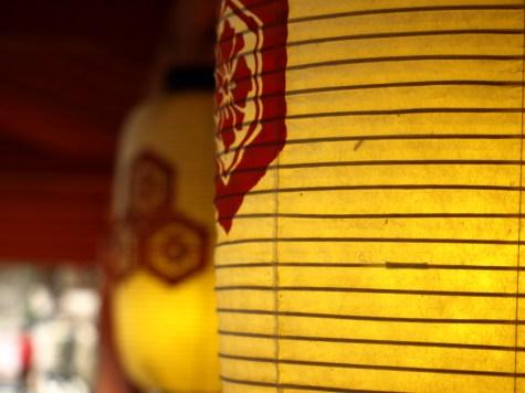 Family crest lanterns