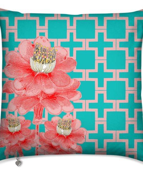 Flower Pink Blue