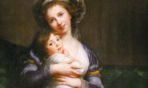 Self portrait with my daughter Julie, by Elisabeth Vigee LeBrun