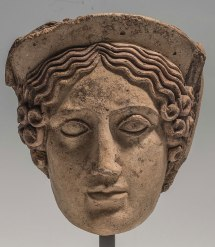 Head of Demeter, Etruscan,