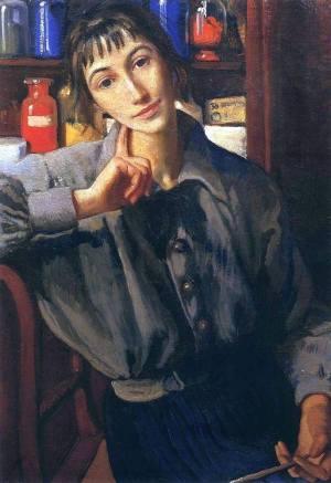 Zinaida Serebriakova self portrait
