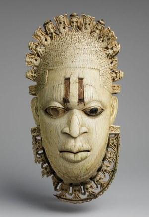 Queen Idia of Benin, 16th century ivory pendant mask