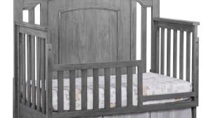 Guard Rail Willowbrook Graphite Gray Oxford Baby Kids