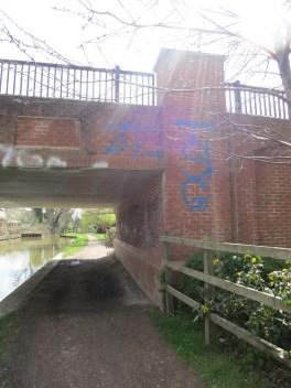 Elizabeth Jennings Way Bridge Graffiti 8