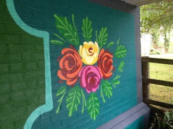 Oxford Canal Mural Painting Days (102)