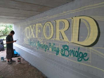 Oxford Canal Mural Painting Days (20)