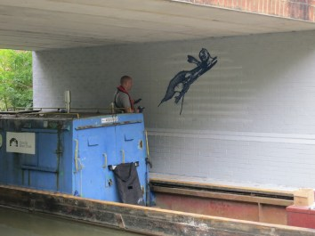 Oxford Canal Mural Painting Days (36)