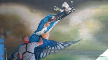Oxford Canal Mural Painting Days (53)