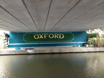 Oxford Canal Mural Painting Days (87)