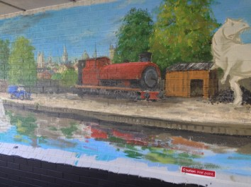 Oxford Canal Mural Painting Days (98)