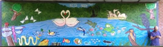 Frenachay Road Bridge Children's Mural