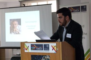 "Panel 5 - Marios Kiparissis-Moros - Crossing the Borders to ""El-Dorado"": Albanian-Greek Border-Crossing in Contemporary Albanian and Greek Literature"