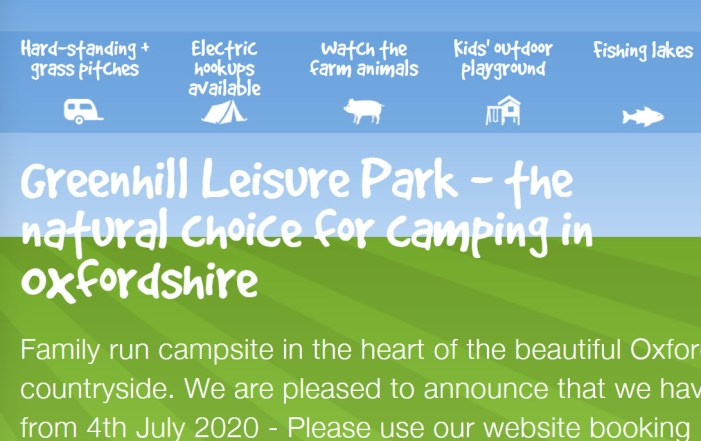 greenhill leisure park