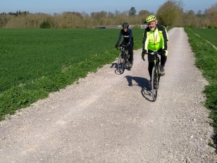 New route for Wantage - Harwell commuing across the fields