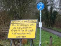 Notice of closure