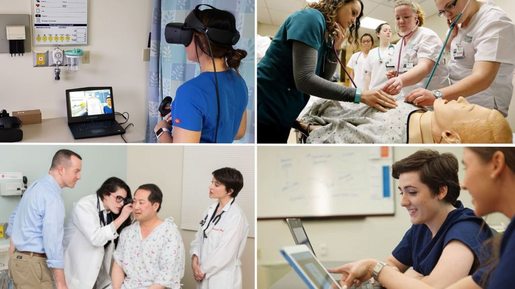 Clinical hours replacement with VR simulation