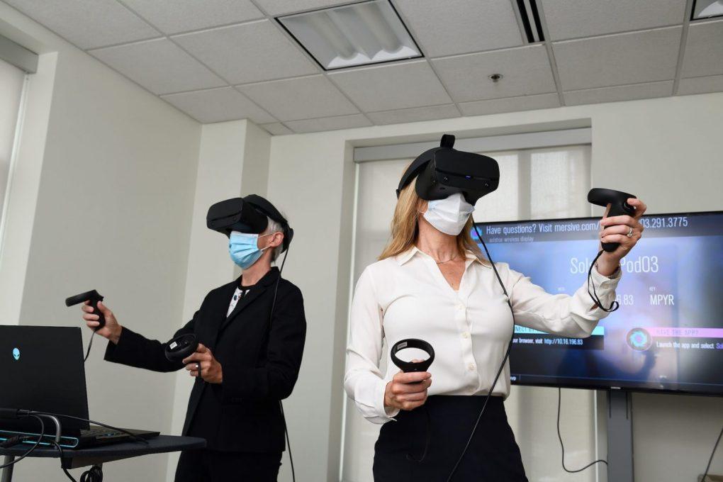 Johns Hopkins Simulation VR team