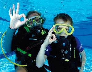 Learn to scuba dive pic