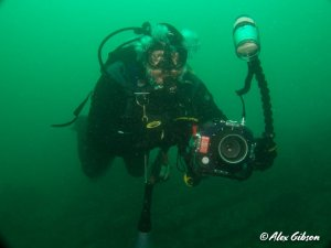A renegade underwater photographer...