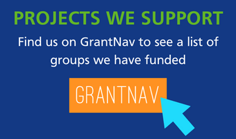 Projects we support - find them on GrantNav