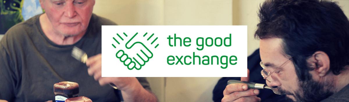 The Good Exchange logo