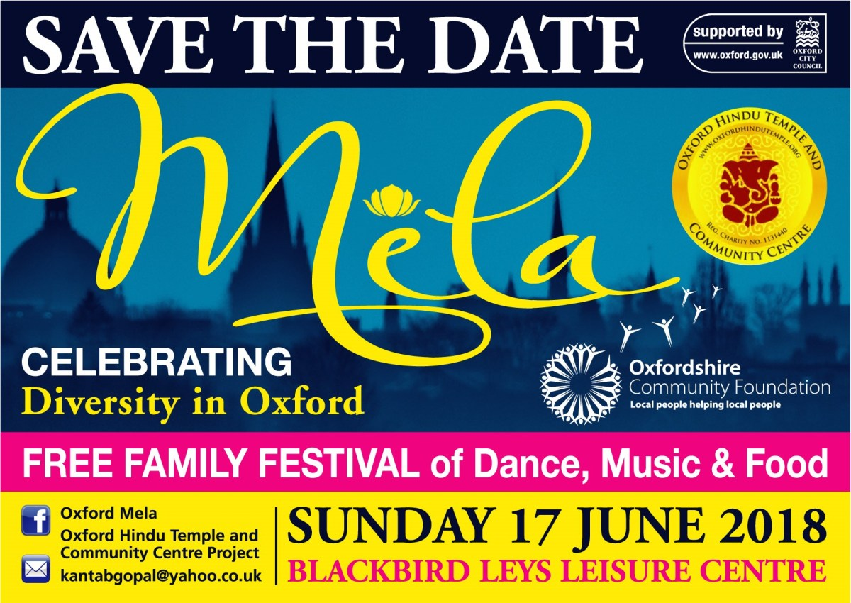 Oxford Mela poster