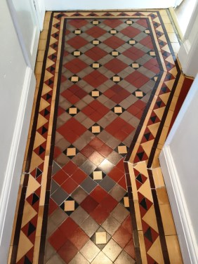 Victorian Floor Gas Pipe Repaired and cleaned in Oxford
