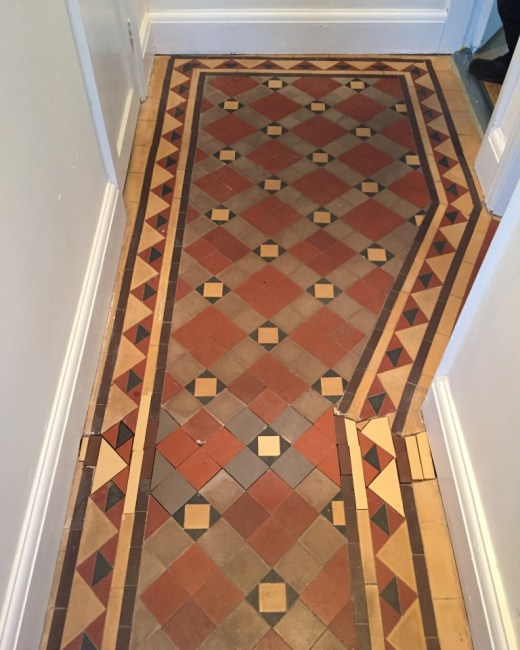 Victorian Floor- Gas Pipe Repaired in Oxford
