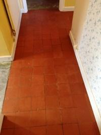 Red Tile Floor | Tile Design Ideas