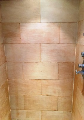 Porcelain Shower Before Renovation in Didcot